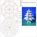 Abete 3 - Fir tree 3 (Crease Pattern) by Francesco Guarnieri