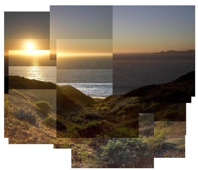 Sunset at Baker Beach; The Presidio, San Francisco (2011)