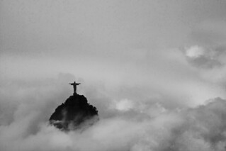 Corcovado out of the clouds
