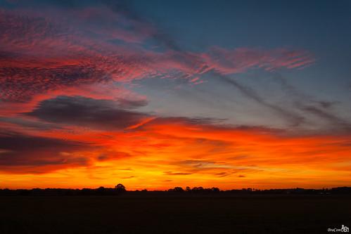 netherlands clouds sunrise nederland wolken silhouttes noordbrabant wintelre zonsopkomst silhouetten bracom bramvanbroekhoven