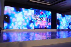 led display, stage, display device, flat panel display,