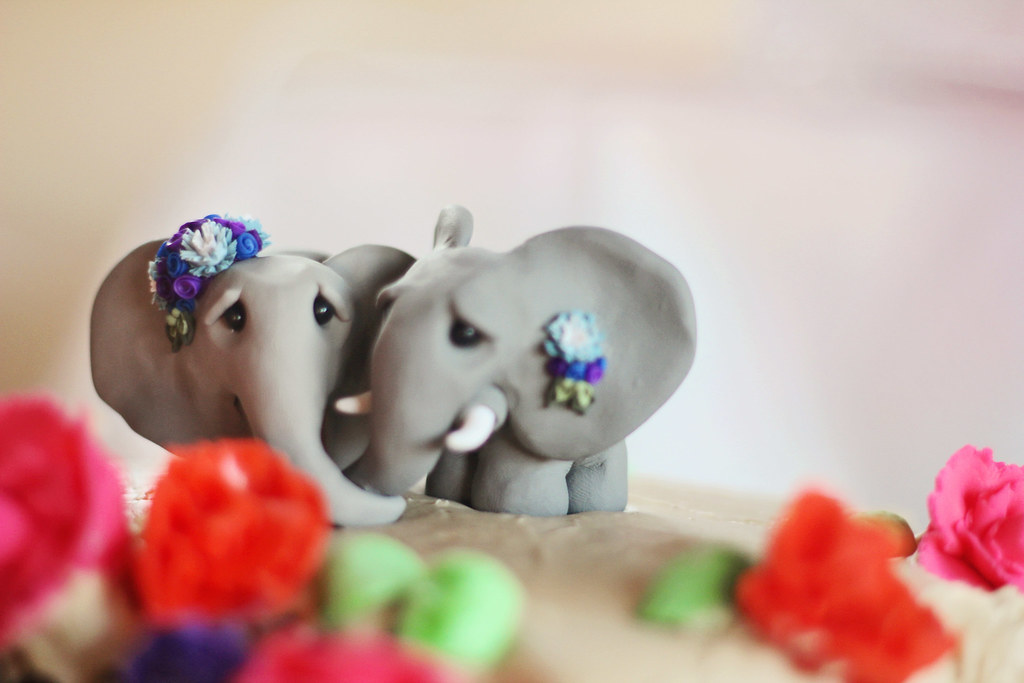 Our Adorable Cake Topper