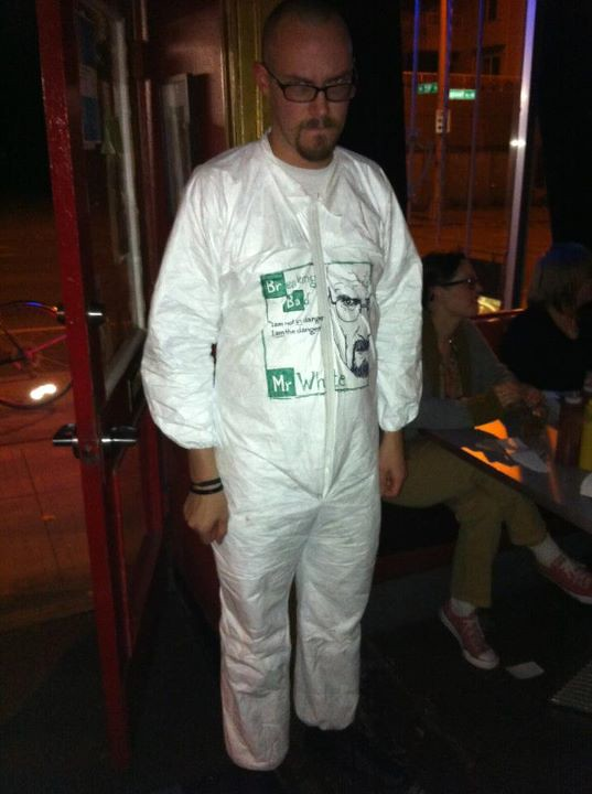 Marc Palm as Walter White by Scott Faulkner
