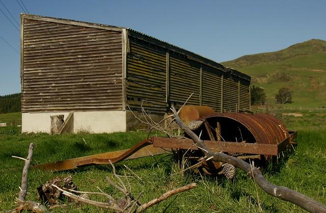 big barn, Greta Valley