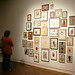 """Fred Stonehouse, """"Untitled (drawing installation),"""" 2009-2011, mixed media on paper, 38 framed elements, sizes vary overall: 102 x 102 inches by UA Dept. of Art & Art History"""