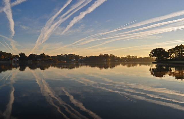 Jet Trail Morning (3)