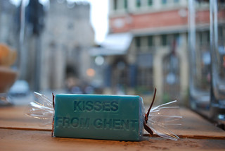 "Handmade soap ""Kisses from Ghent"""