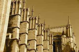 Flying buttresses, Abbey of St. Denis
