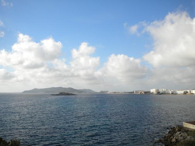 La costa de Ibiza