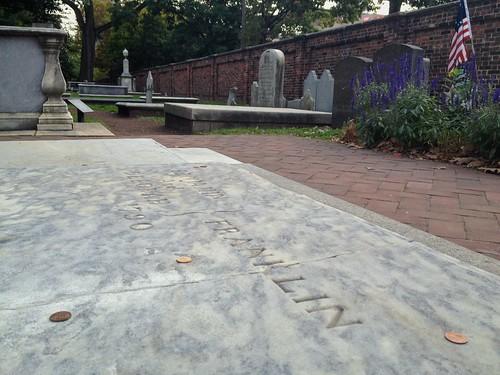 Ben Franklin grave