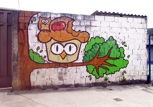 Cake Street Artist : Cupcake Street Art In Brazil