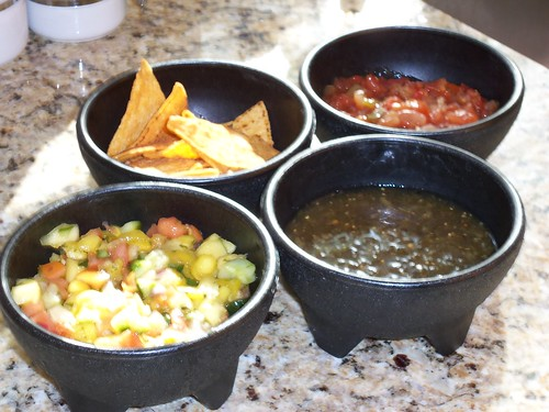 three salsa's