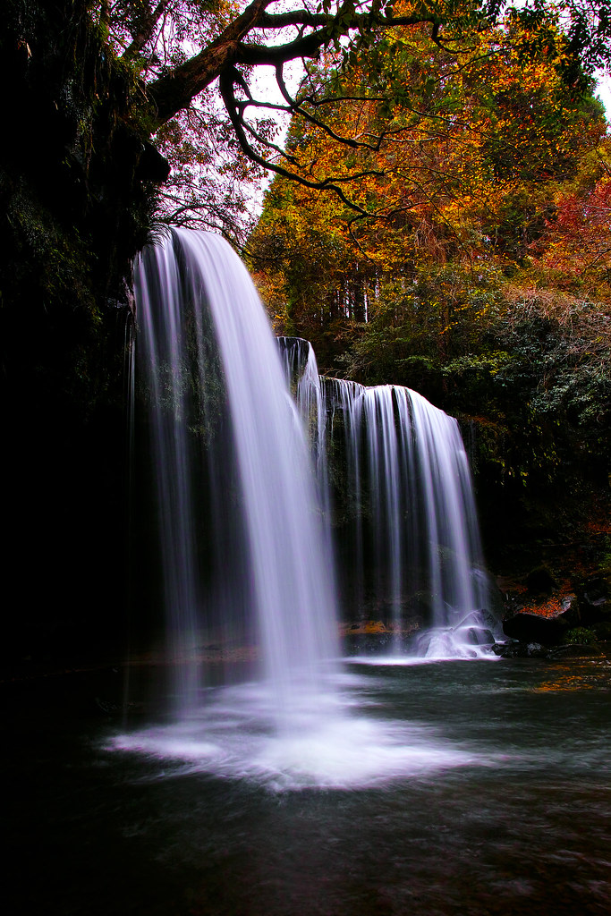 autumn waterfall - Explored -