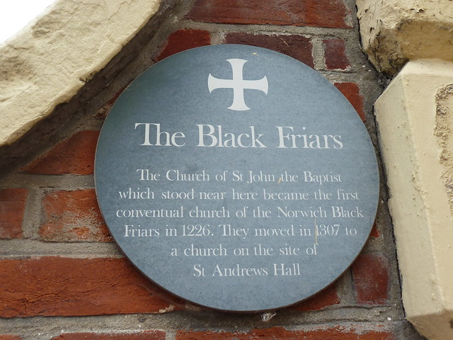 Photo of Church of St John the Baptist, Norwich green plaque