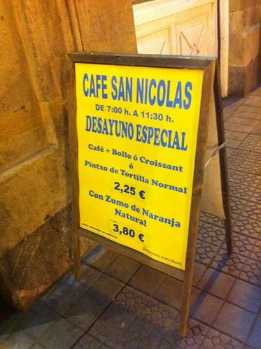 CAFE SAN NICOLAS, Bilbao by LaVisitaComunicacion