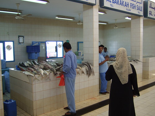 Fish Market in Kalba