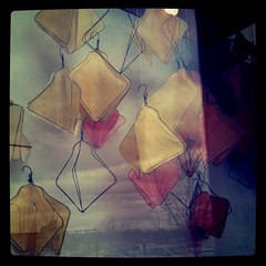 Instragram - Anthropologie window display