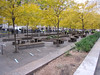 Zucotti Park the morning after the eviction