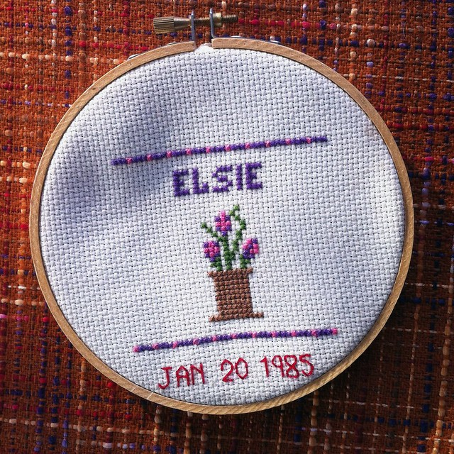 My First Cross Stitch