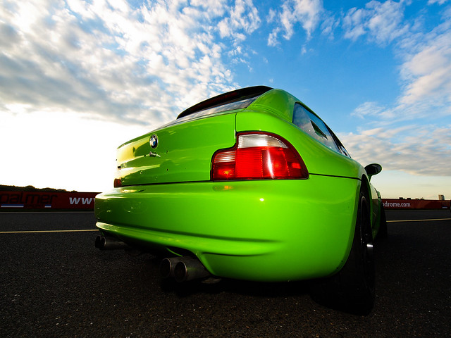 Euro M Coupe | Lime Green