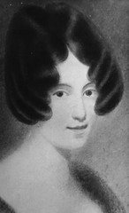 "Caroline Carleton who wrote the lyrics for ""The Song of Australia"", date of portrait and artist unknown."
