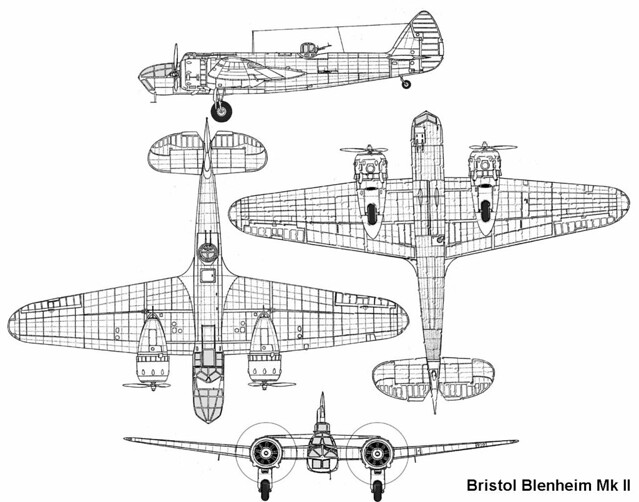 Bristol 149 Blenheim / Bolingbroke