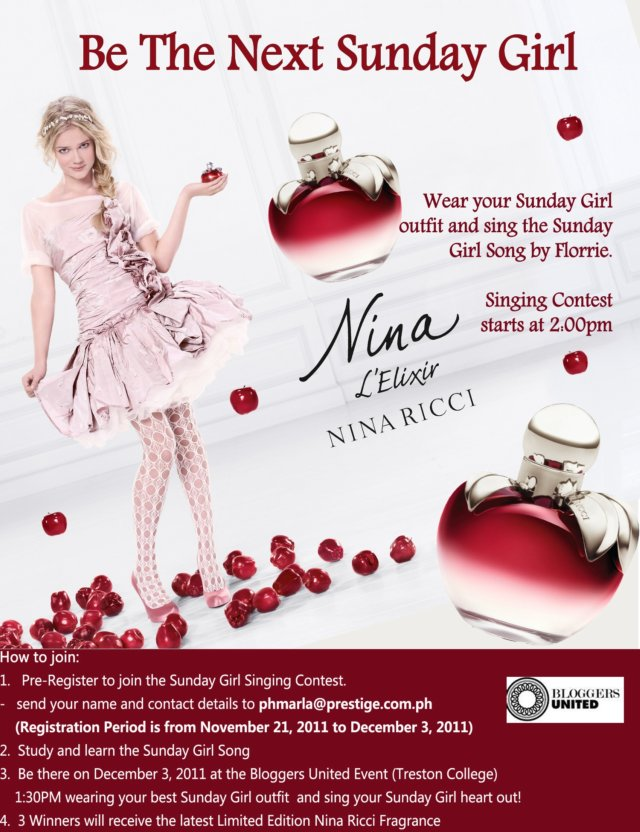 nina ricci singing contest final