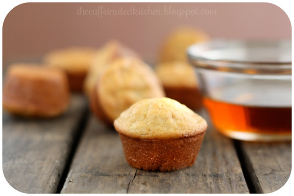 Maple Banana Pancake Mini Muffins