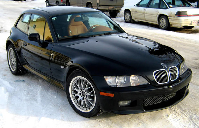 2002 BMW Z3 Coupe | Black Sapphire | Walnut Extended Leather | Brushed Aluminum Trim