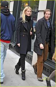 Gwyneth Paltrow Shearling Boots