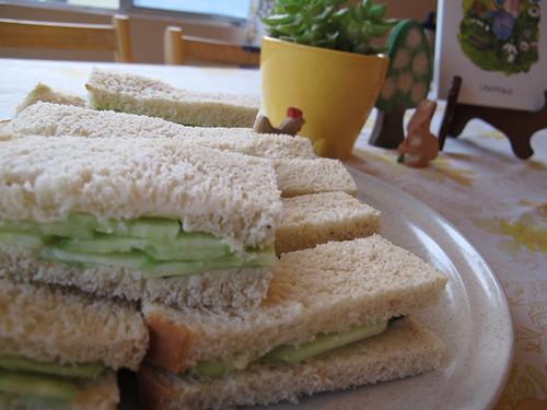 cucmber sandwiches