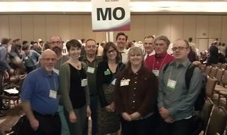 Missouri delegation to the National Bike Summit 2012