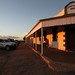 Last light on the Birdsville Hotel