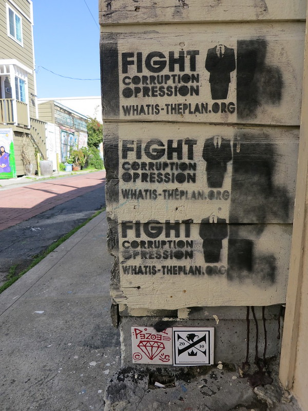 fight corruption, opression