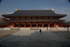 Nara  the Yakushi-ji (薬師寺) Temple's Lecture Hall