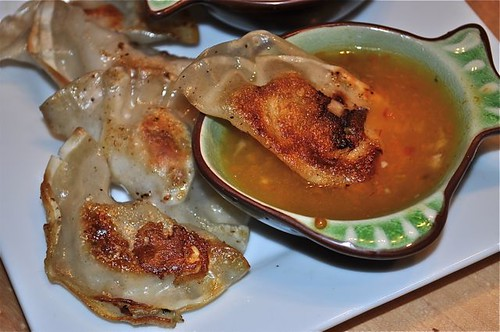 dumplings with pork, shrimp & mushrooms 19
