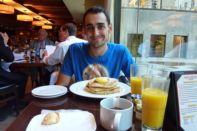 0961 - Breakfast @ Rock Center Cafe