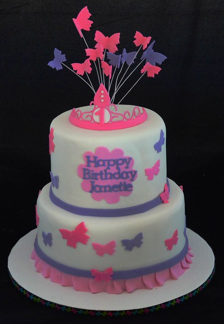 Asda Butterfly Birthday Cakes ~ Birthday cake ideas with butterfly image inspiration of and decoration