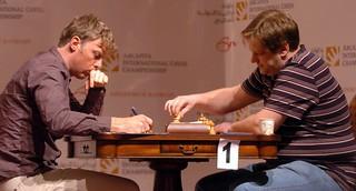 Tregubov, Golubev. Bahrain 2009.