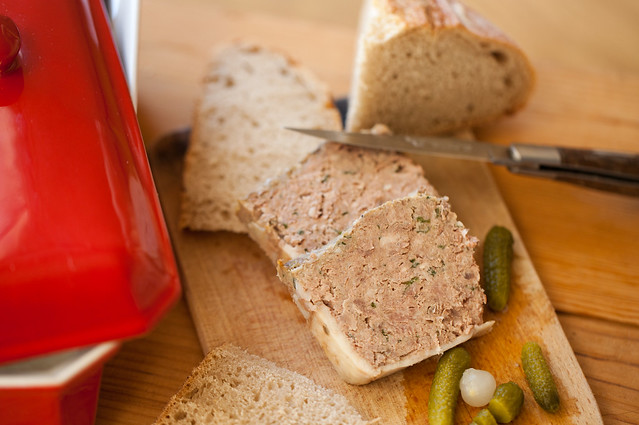 Terrine campagnarde rustic terrine flickr photo sharing for Cuisine campagnarde