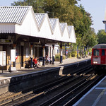 A Stock at Chorleywood Underground Station