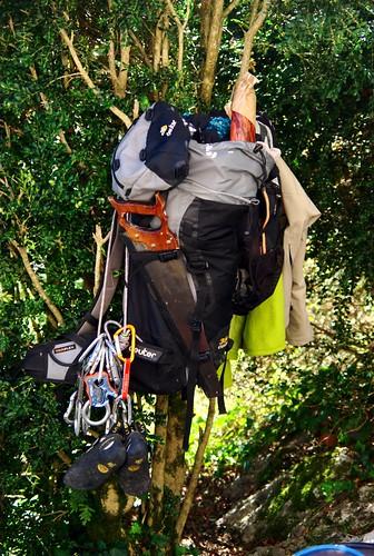 Le sac du grimpeur