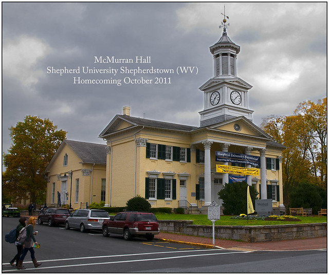 Shepherdstown (WV) United States  city images : McMurran Hall Shepherd University Shepherdstown WV Homecoming ...