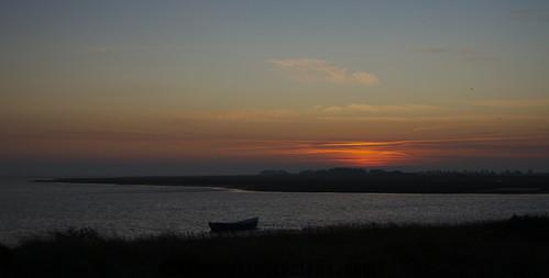 sea water clouds sunrise denmark nikon colours bluesky d60 digikam harboøretange darktable