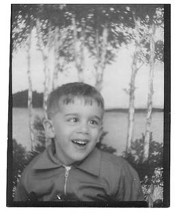 Jim, the Photographer at Age 4