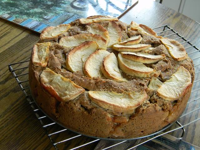 Apple Coconut Cake (GF, CF, Vegan) | When I was doing the ba ...