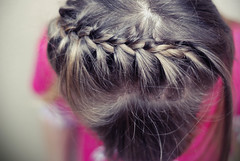 hair braid photo