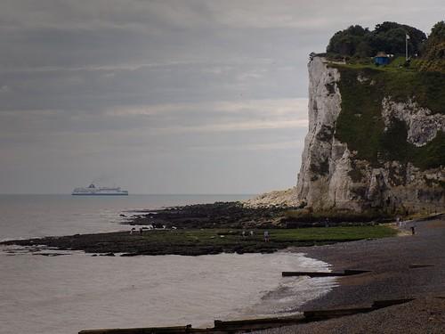 Looking towards Dover