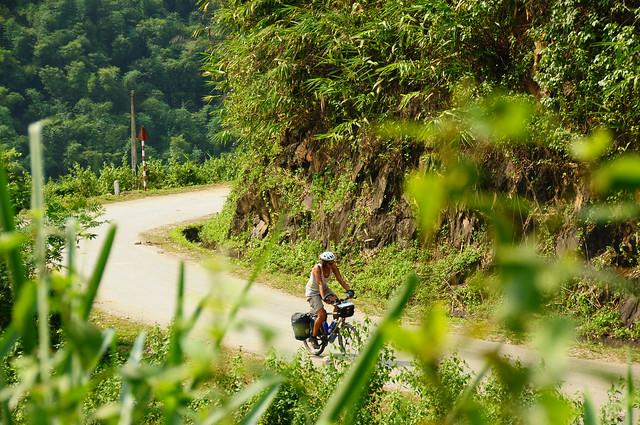 Bjergvej i Nordvietnam