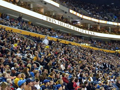 Crowd Shot at the Buffalo Sabres game